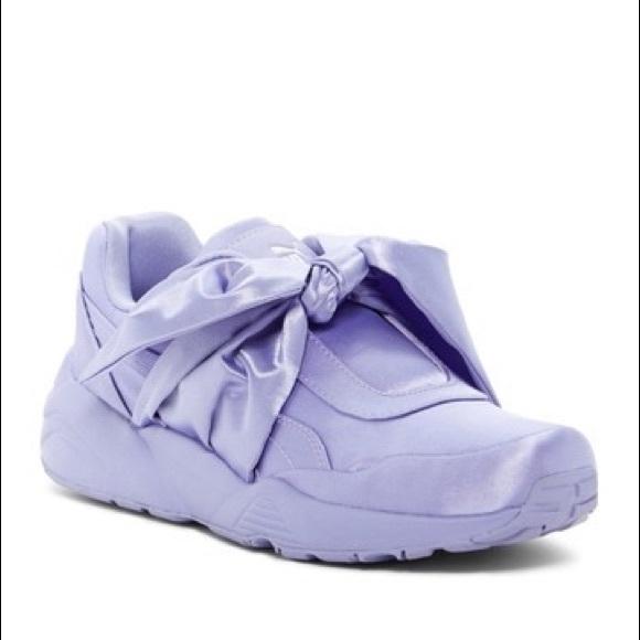 53e2a802899 HP NIB Puma Fenty Rihanna Bow Sneaker 6.5 Lavender